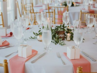 Tablescape Pink